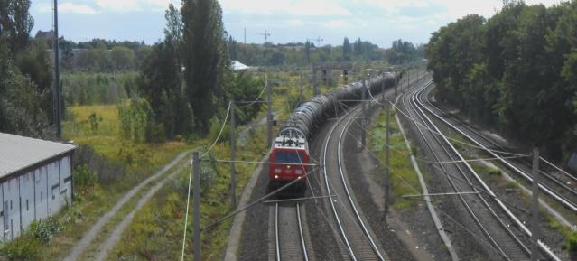 Kesselwagenzug auf der Stettiner Bahn