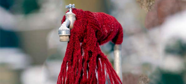 Wasserhahn im Frost | Foto: Berliner Wasserbetriebe