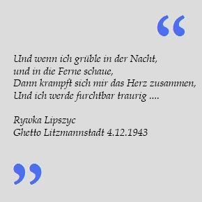 Rywka Lipszyc - Zitat