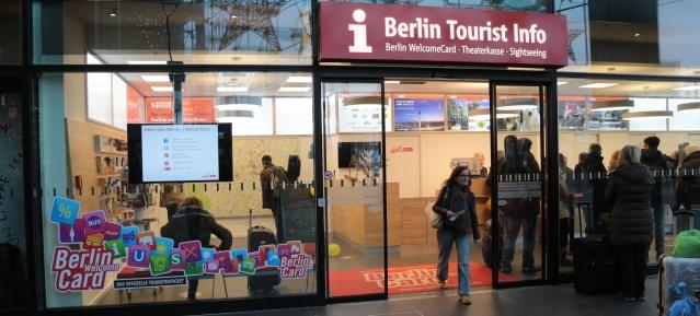 Berlin Tourist Info im Hauptbahnhof