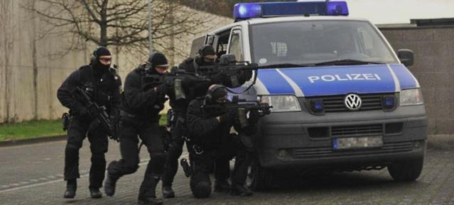 Bundespolizeieinheit BFE+ beim Training