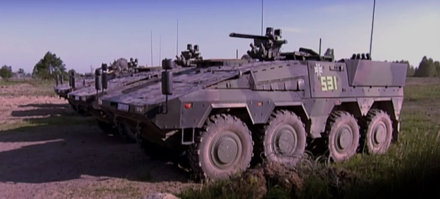 Transportpanzer GTK Boxermit Besenstielkanone