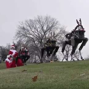 Happy Holydays from Boston Dynamics