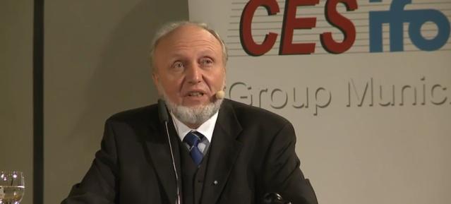 Prof. Hans-Werner Sinn am 15.12.2015