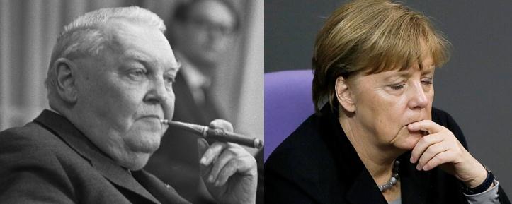 Ludwig Erhard - Angela Merkel