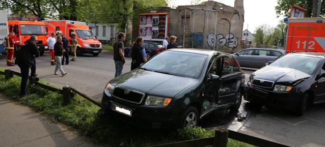 Unfall am 3. Mai 2015