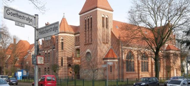Lutherkirche in Wilhelmsruh