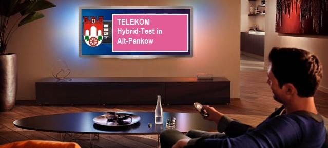 TELEKOM Hybrid-Test in Alt-Pankow