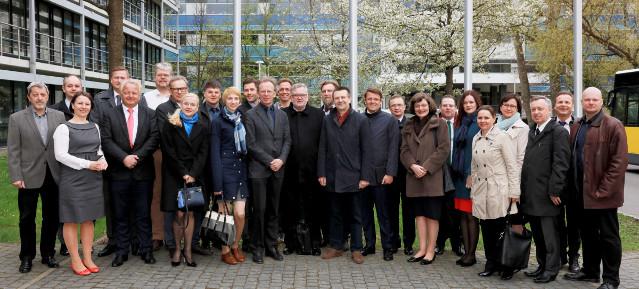 Wirtschaftsdelegation aus Litauen