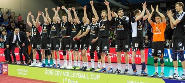 BR Volleys in Surgut auf dem 1.Platz