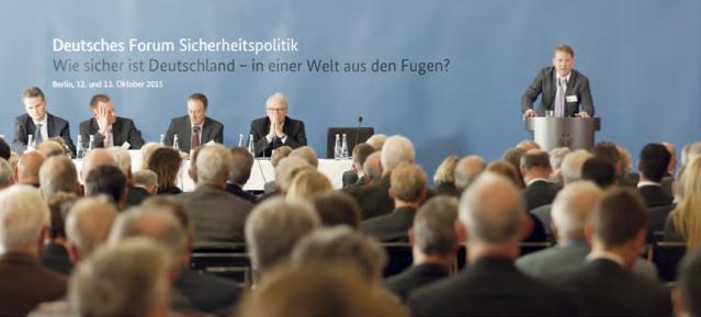 Deutsches Forum Sicherheitspolitik 12-13.10.2015