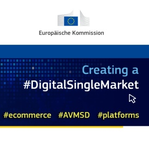 "EU Kkommission ""#Digital Single Market"""