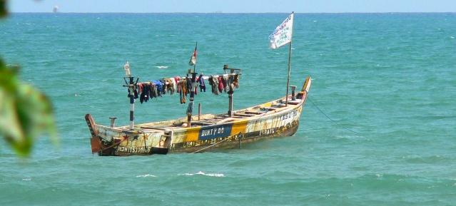 Fischerboot - Ghana