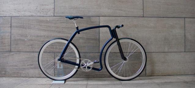 Edles Fahrrad-Design: VIKS DENIM