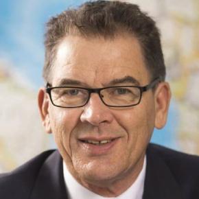 Bundesminister Dr. Gerd Müller (CSU)