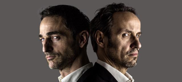 Oliver Rickenbacher & Stefan Plepp, © Foto: Ingo Woesner / Bildmontage: artkrise.de