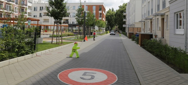 """Spielstrasse """"In den Floragärten"""""""