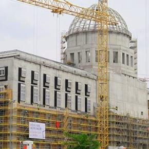 Rohbau des Berliner Stadtschloss