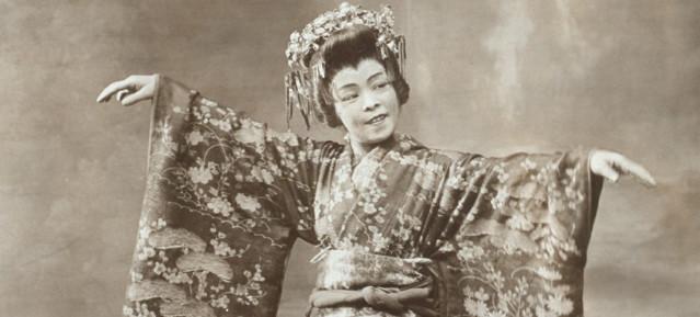Madame Hanako in den 1910er-Jahren, Bild: NYPL