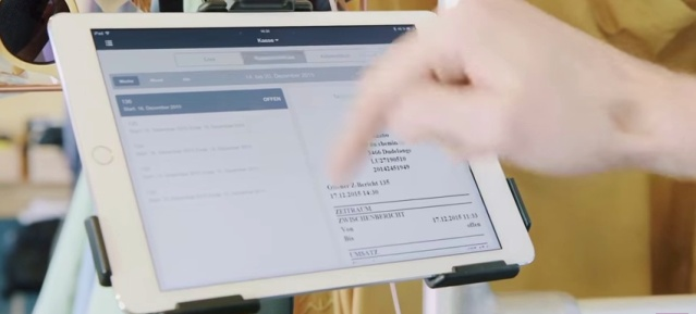 Kassensystem mit i-Pad von INVENTORUM