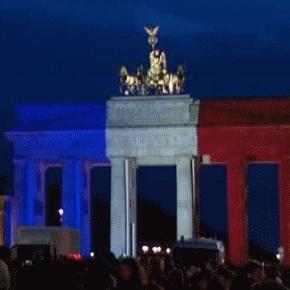 Brandenburger Tor Tricolore