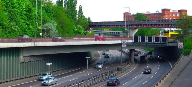 Brücke am Sachsendamm