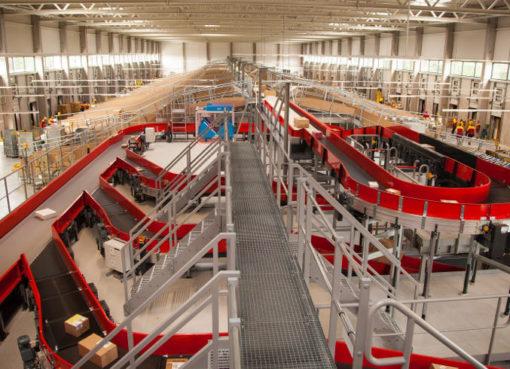 Deutsche Post DHL Group: Neue mechanisierte Zustellbasis in Berlin-Pankow wird in Betrieb genommen - Foto: Quelle: Deutsche Post DHL