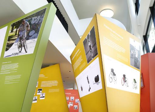 Paralympics Ausstellung im ottobock science center berlin