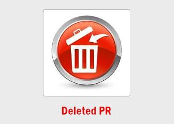 Deleted PR