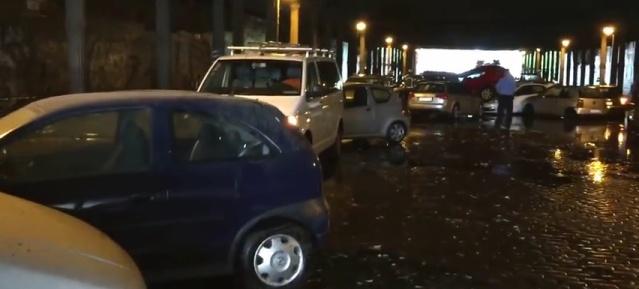 Chaos im Gleimtunnel nach Sturzregen