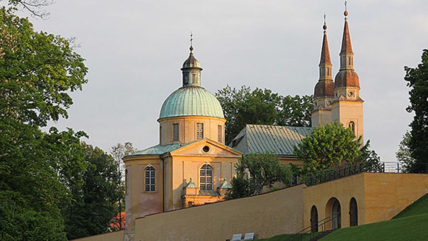 Kreuz-Kirche in Neuzelle - Foto: Rainer Barcikowski