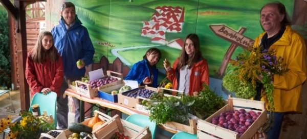 Früchte für Flüchtlinge – Kleingärtner von Bornholm II spenden Ernte - Foto: Andreas Teich