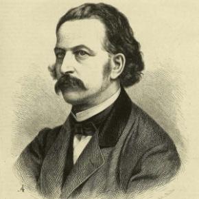Theodor Fontane - Portrait um 1860 - gemeinfrei[