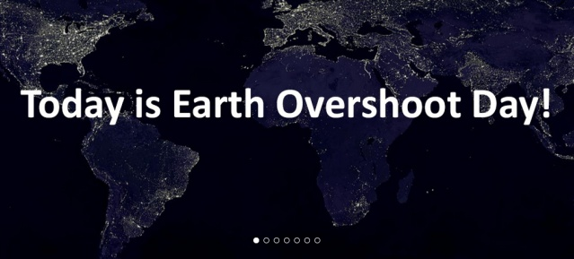 Today is Overshoot Day!