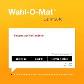 Wahl-O-Mat Berlin 2016