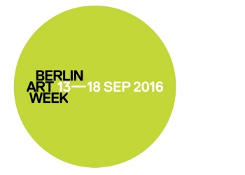 BERLIN ART WEEK 13-18 SEP 2016