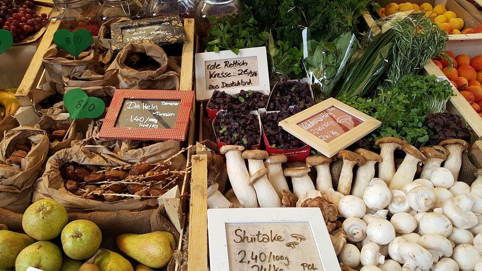 Biokost, Obst Gemüse & Pilze aus der Region