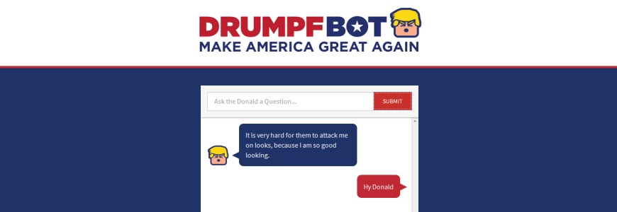 Drumpfbot : Ask The Donald