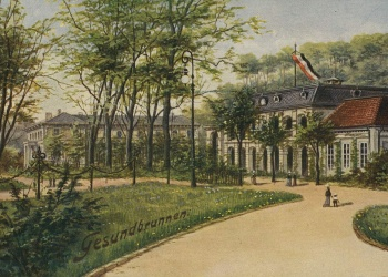 Gesundbrunnen um 1900