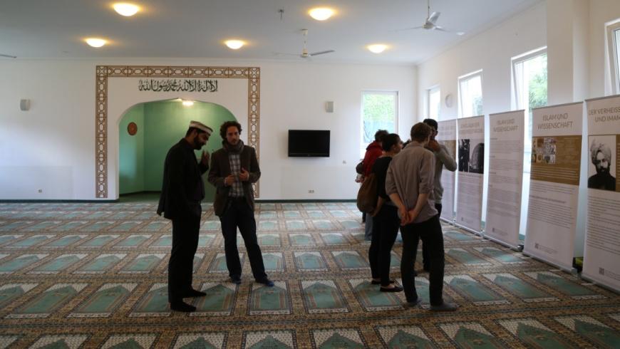 Gebetsraum der Khadija Moschee