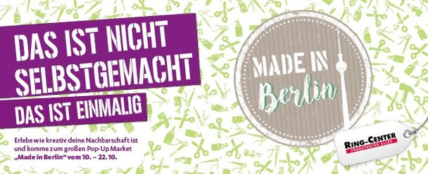MADE IN BERLIN PopUp Markt