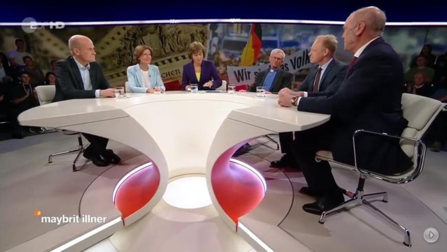 ZDF: Talkshow mit Maybritt Illner
