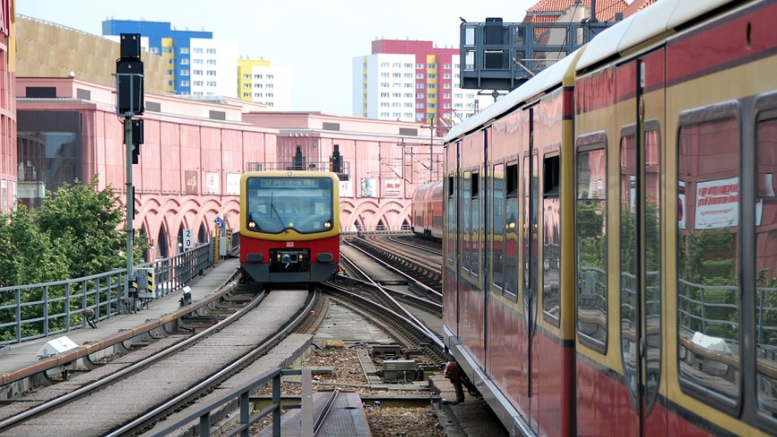 Stadtbahn - Ausfahrt Alexanderplatz