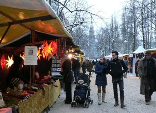 Advents-Ökomarkt Kollwitzplatz