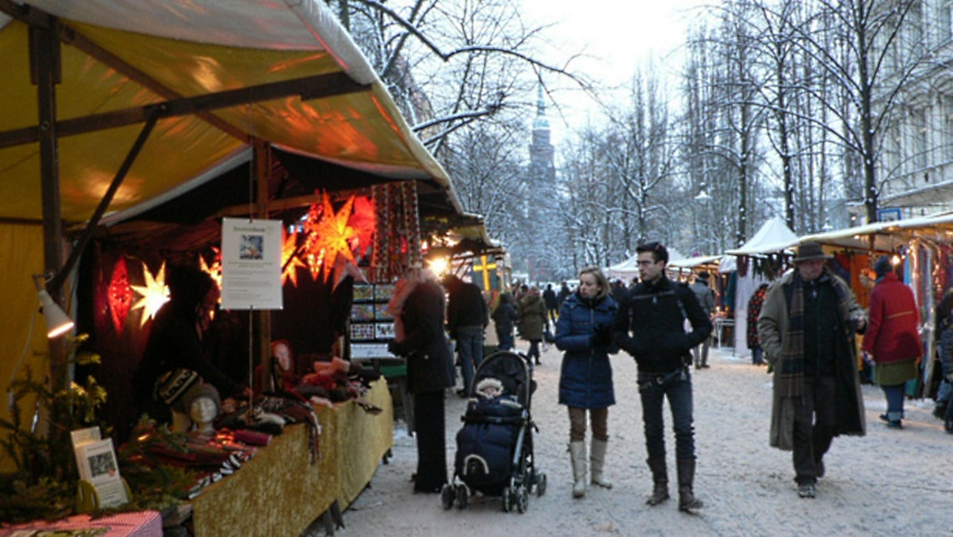 Advents-Ökomarkt Kollwitzplatz