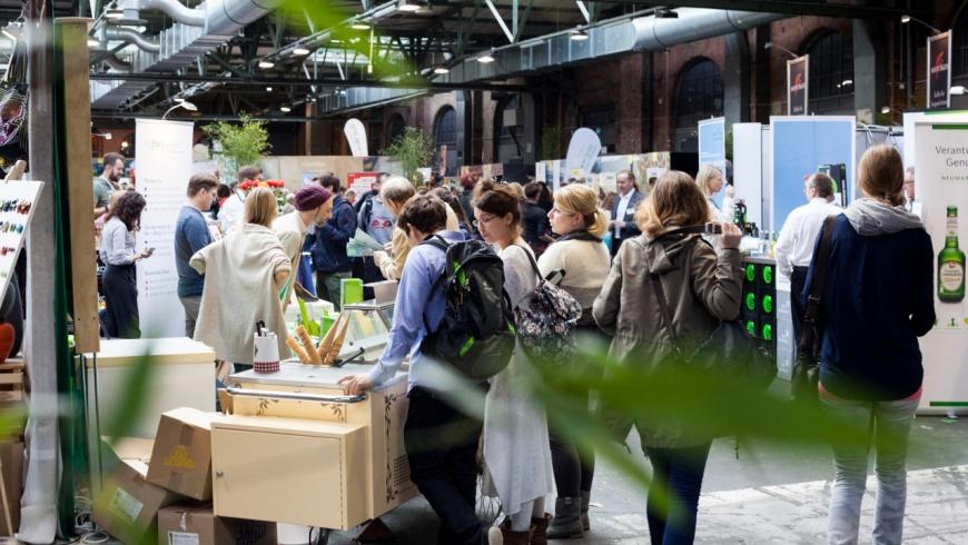 Veggieworld & Heldenmarkt in der STATION Berlin