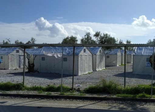 Refugee-Camp auf Lesbos