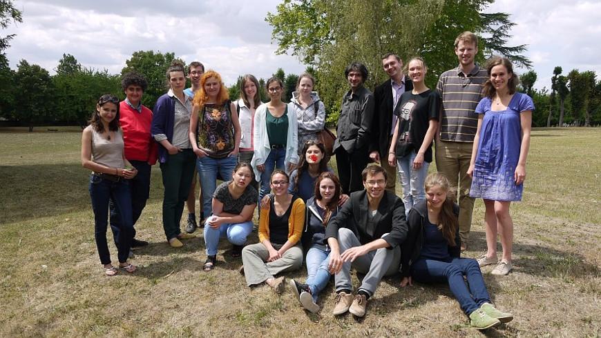Mitglieder und Organisatoren des Greater Europe Peace Orchestra - Foto: © one-europe.info