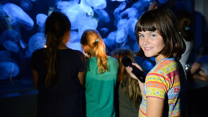 Taschenlampen-Tour Aquarium Berlin