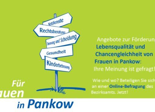 Umfrage Lebensqualität und Chancengleichheit von Frauen in Pankow